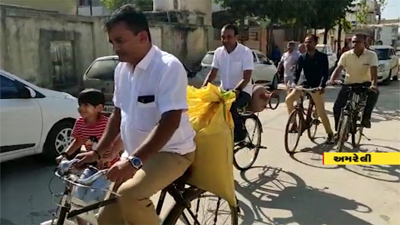 Gujarat local body election 2021 paresh dhanani