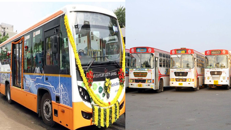 AMTS and BRTS bus start after lockdon in ahmedabad