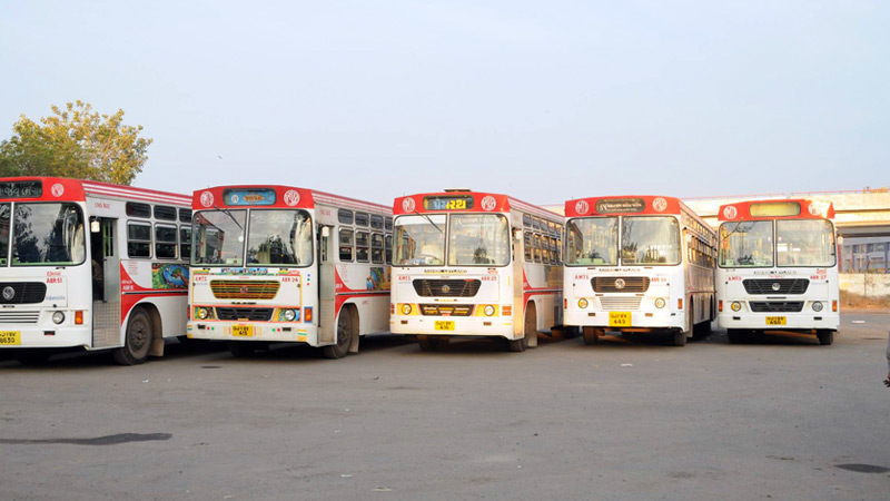 Amts Accident more than brts in Ahmedabad