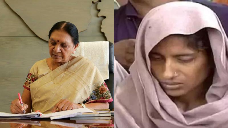 આનંદીબેન પટેલે દેશની પ્રથમ મહિલા કેદી જેને ફાંસીની સજા અપાઈ તે સજા મુદ્દે કરી દખલગીરી