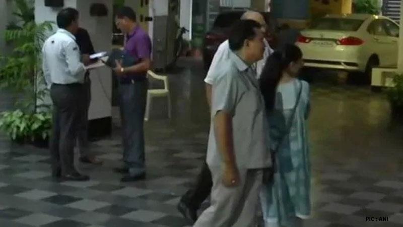 p.chidambaram inx media case delhi cbi team delhi