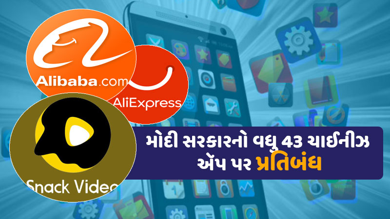 india banned 43 chines Apps