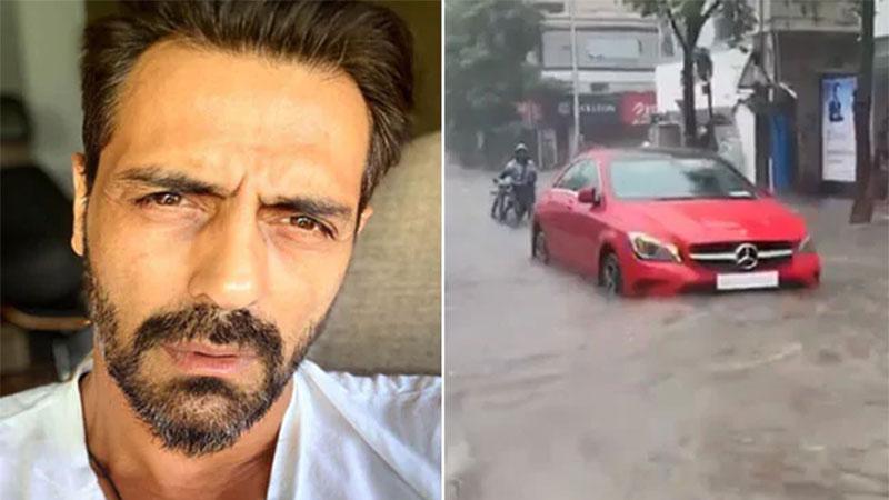 arjun rampal trolls for his video on mumbai rain on social media