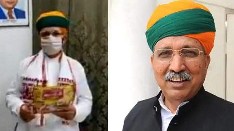 union minister arjun meghwal corona tested positive