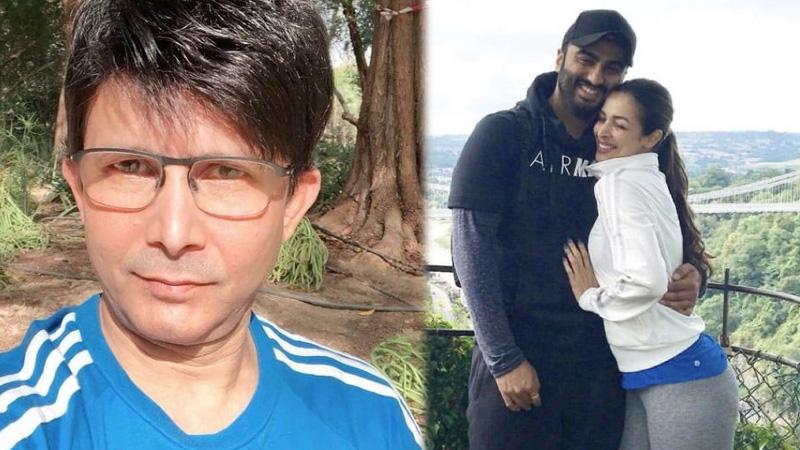 KRK shares Arjun Kapoor Malaika Aroras pic calling him fearless tiger