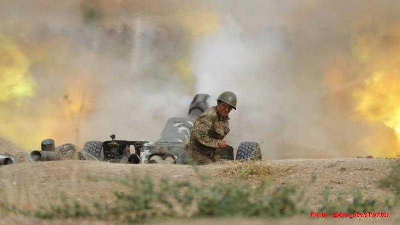 armenia azerbaijan agree humanitarian ceasefire says US president donald trump