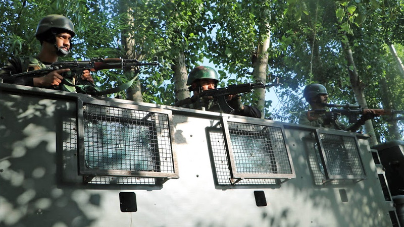 spo and his wife shot dead by terrorist daughter injured