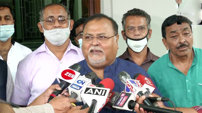 bengal bjp will get a blow again 10 mlas will leave the party mamata banerjees minister partha chatterjee made a big-claim