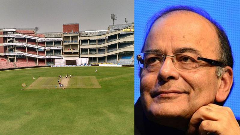 ddca announced feroz shah kotla ground will renamed late former union minister arun jaitley