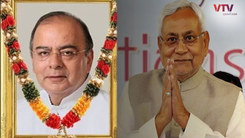 nitish announces late jaitley statue to be installed in state and his birthday will be celebrated