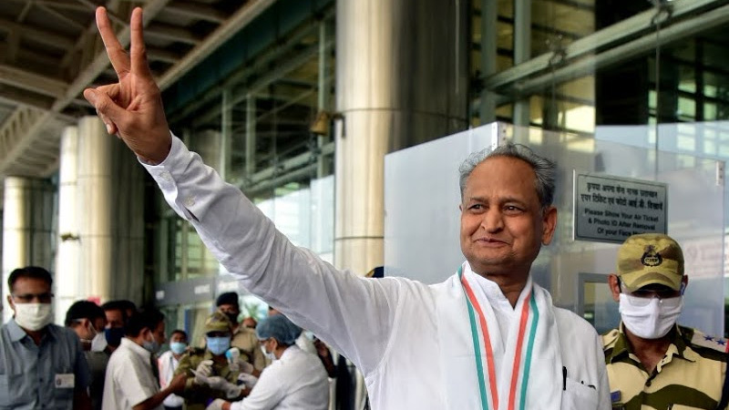 rajasthan congress wins 33 chairperson post in urban local bodies