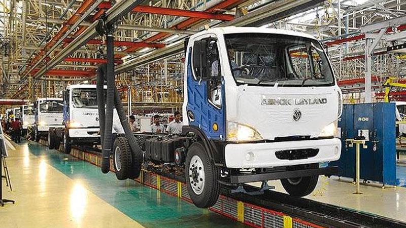 auto sector slowdown ashok leyland
