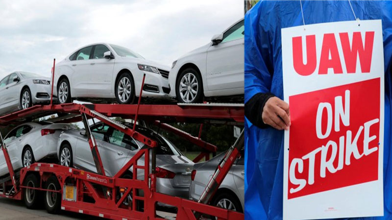 Around 46,000 General Motors auto workers strike in US
