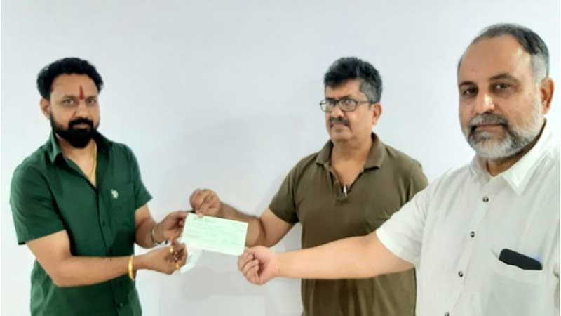 Sunni waqf board receives its first donation from hindu rohit shrivastav