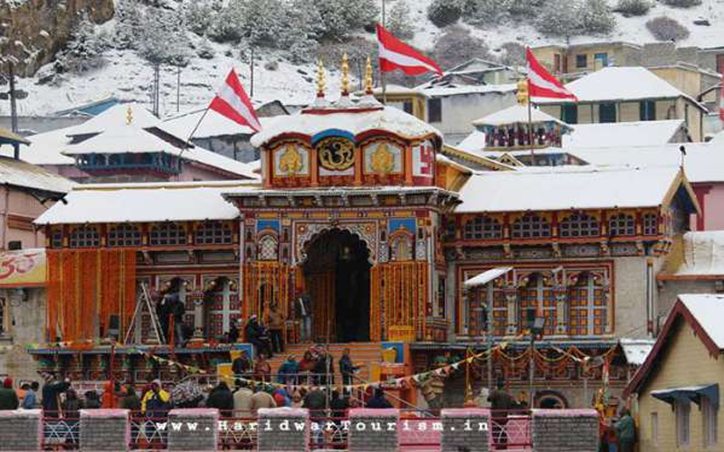 The holy four dham yatra started, today is Badrinath's dedication