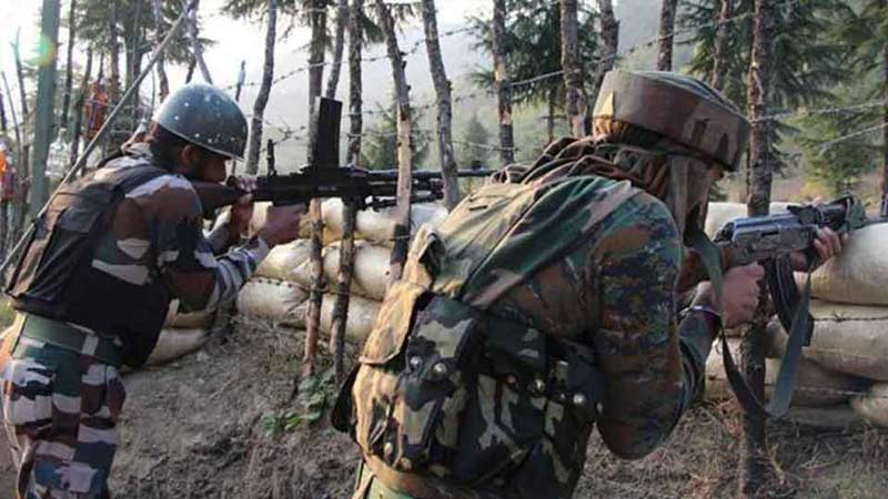 border guards bangladesh fired upon bsf soldiers one died