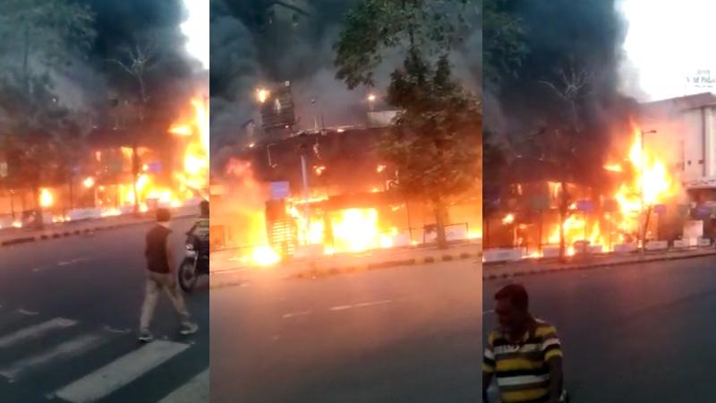 ahmedabad bapunagar shyam shikhar complex fire