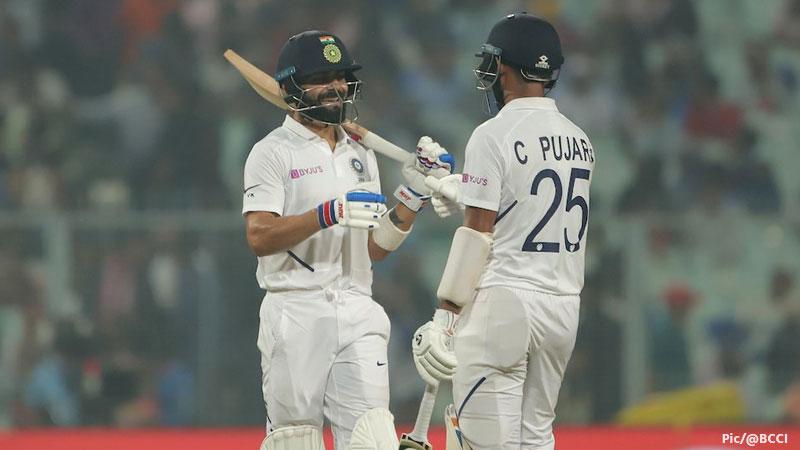 India vs Bangladesh Pink Ball Test Match day 1 score