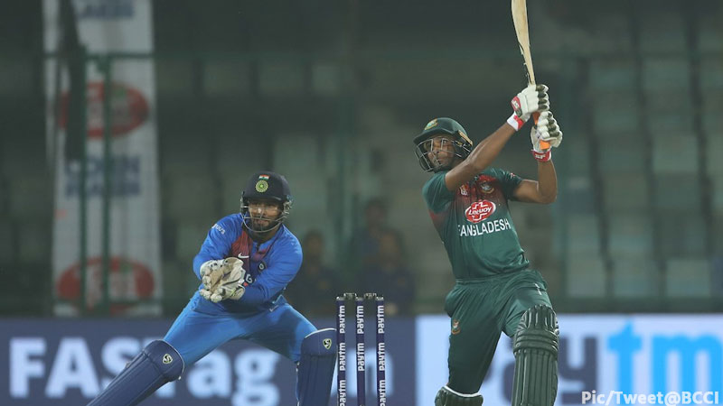 IND vs BAN 1st T20I Bangladesh won by 7 wickets