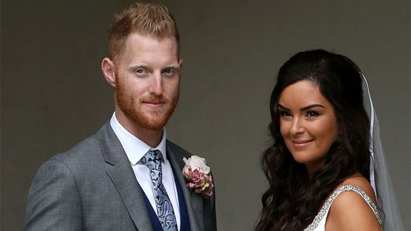 ben stokes hare a romantic kissing picture on instagram with wife clare ratcliffe on 2nd wedding anniversary
