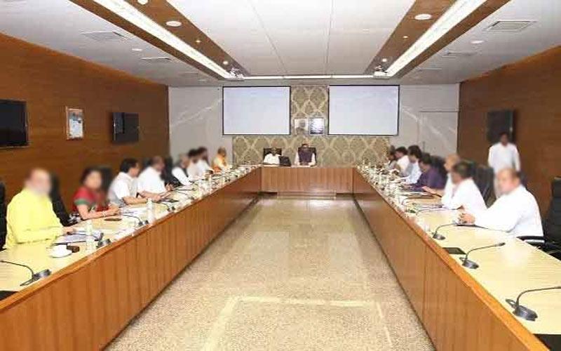 Cyclone Vayu state cabinet meeting cancel