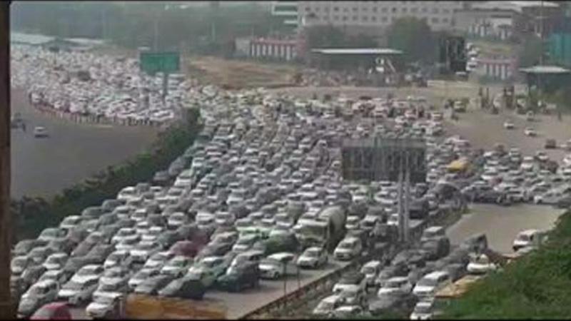 Highways, rail tracks blocked; strike successful, says Rakesh Tikait