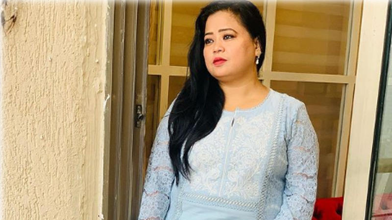 Bharti Singh broke down remembering his father who died at the Manish Paul show saying I have never seen him I dont have a...