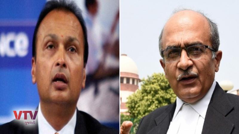 anil ambani company rcom debt ridden prashant bhushan targets