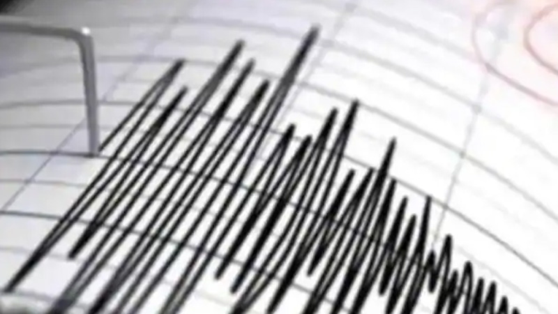 Earthquake of magnitude 3.5 on the Richter scale occurred 102 kms north of Mumbai at 8 am today