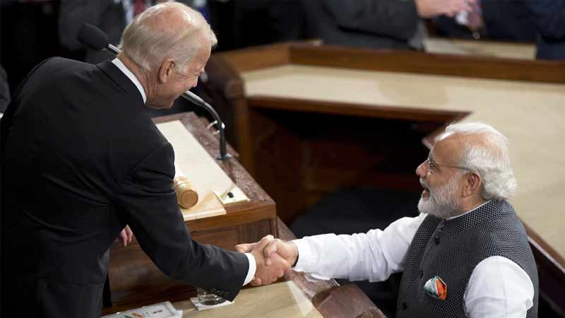 america joe biden india true friend