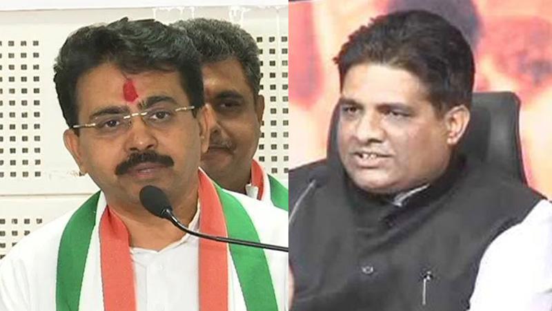 BJP Congress central observers visit Gujarat Rajya Sabha elections 2020