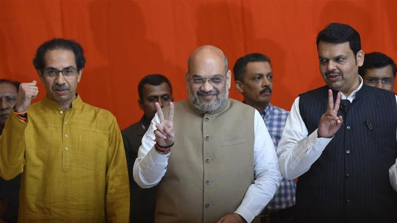 Mumbai union minister ramdas athawale amit shah bjp shivsena