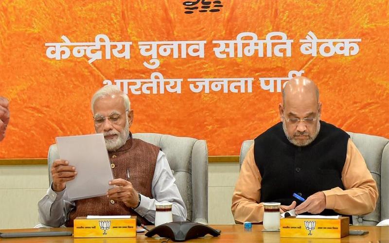 BJP announces seven candidates for delhi up punjab