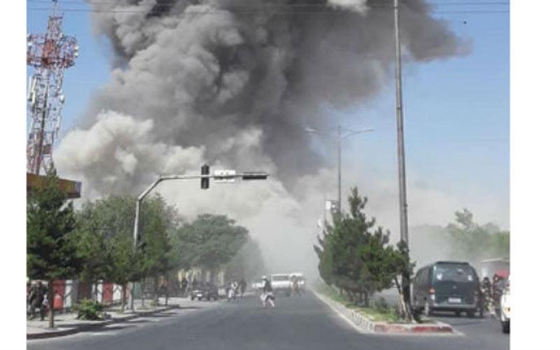 Afghan capital Kabul rocked by powerful explosion