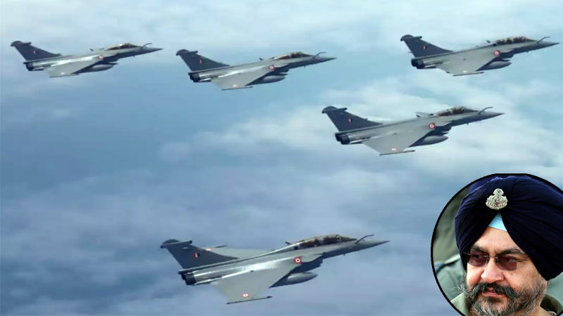 defended rafale deal to stop it go bofors way former IAF chief BS Dhanoa