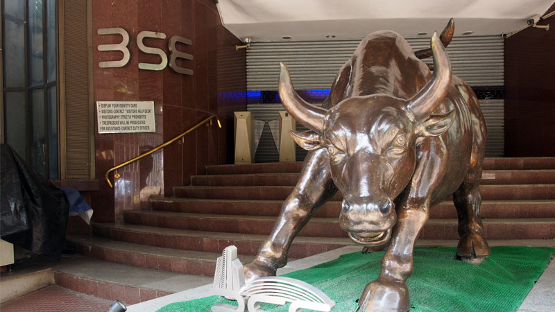sensex and nifty off record high