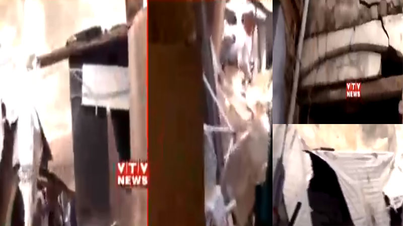 Building Collapse in ahmedabad city