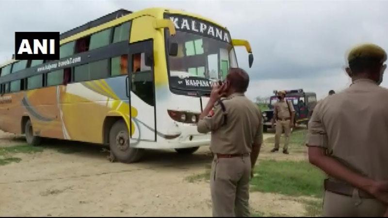 agra bus hijack mastermind pradeep gupta sustained bullet injury during police encounter