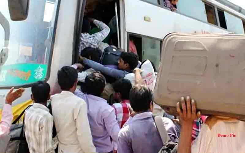 vayu cyclone private vehicle passenger bus train