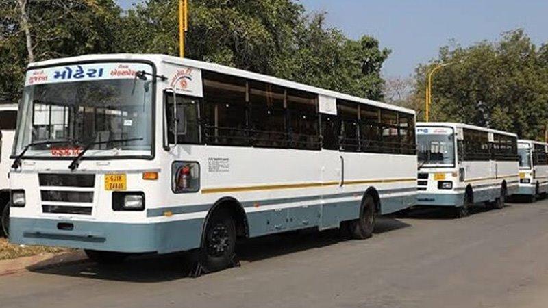 Ahmedabad Express bus start gujarat unlock 2 coronavirus