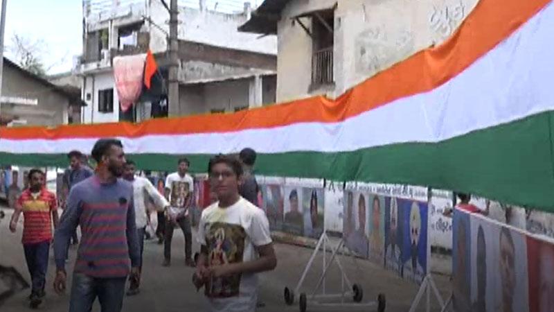Ganesh Dissolution yatra bayad aravalli pulwama tiranga