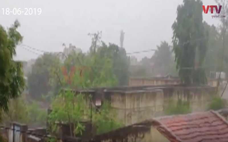 Rainfall in Bhavnagar mahuva una saurashtra rajkot Weather Forecast
