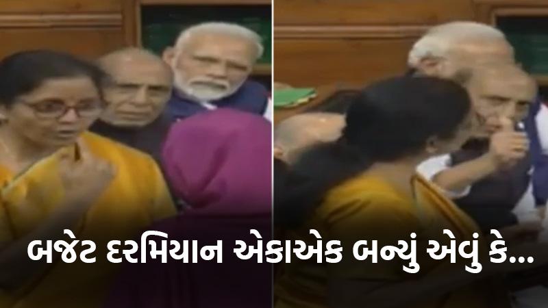 nirmala sitharaman did not complete speech
