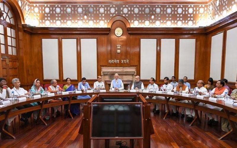 narendra modi cabinet meeting
