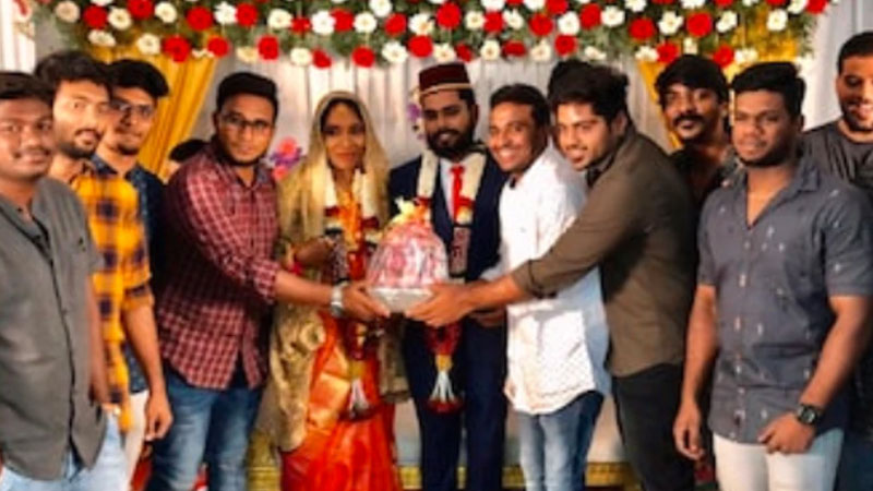 couple in Tamil Nadu receives an expensive and unusual wedding gift