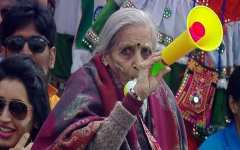 this mistake was seen on charulata patels face during india bangladesh match