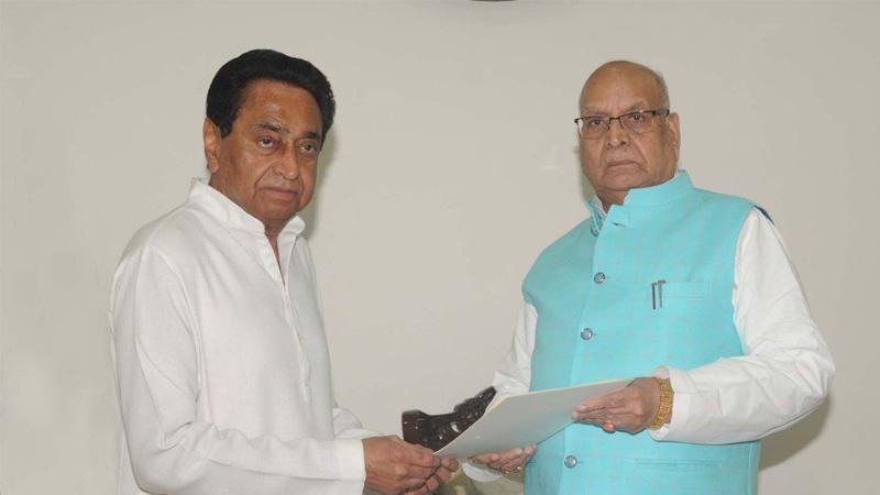 Madhya Pradesh CM Kamalnath Government