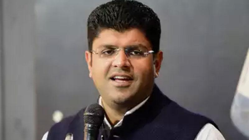 jjp leader dushyant chautala bjp cant teach nationalism to haryana