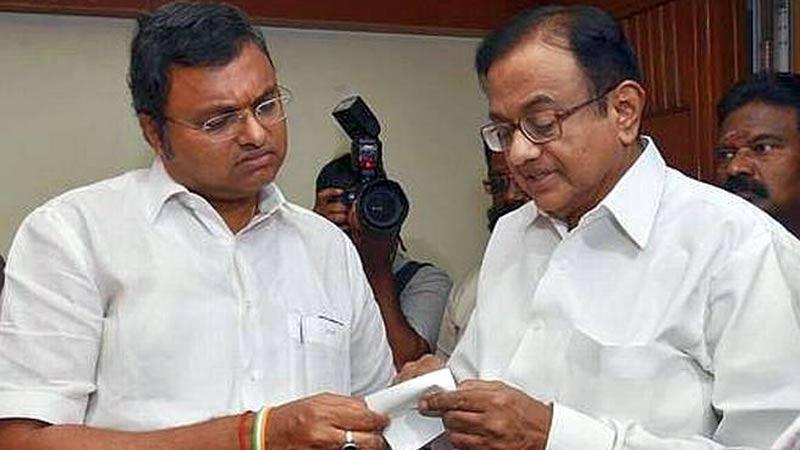 what is  inx media case p chidambaram