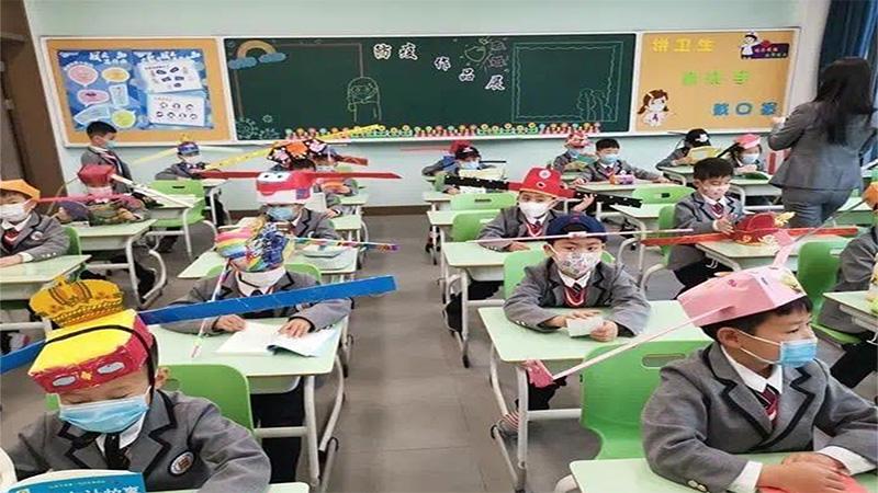 Coronavirus In China: Schools Open In Beijing
